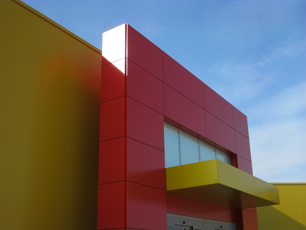 Carpenmetal rivestimento esterno edificio 2