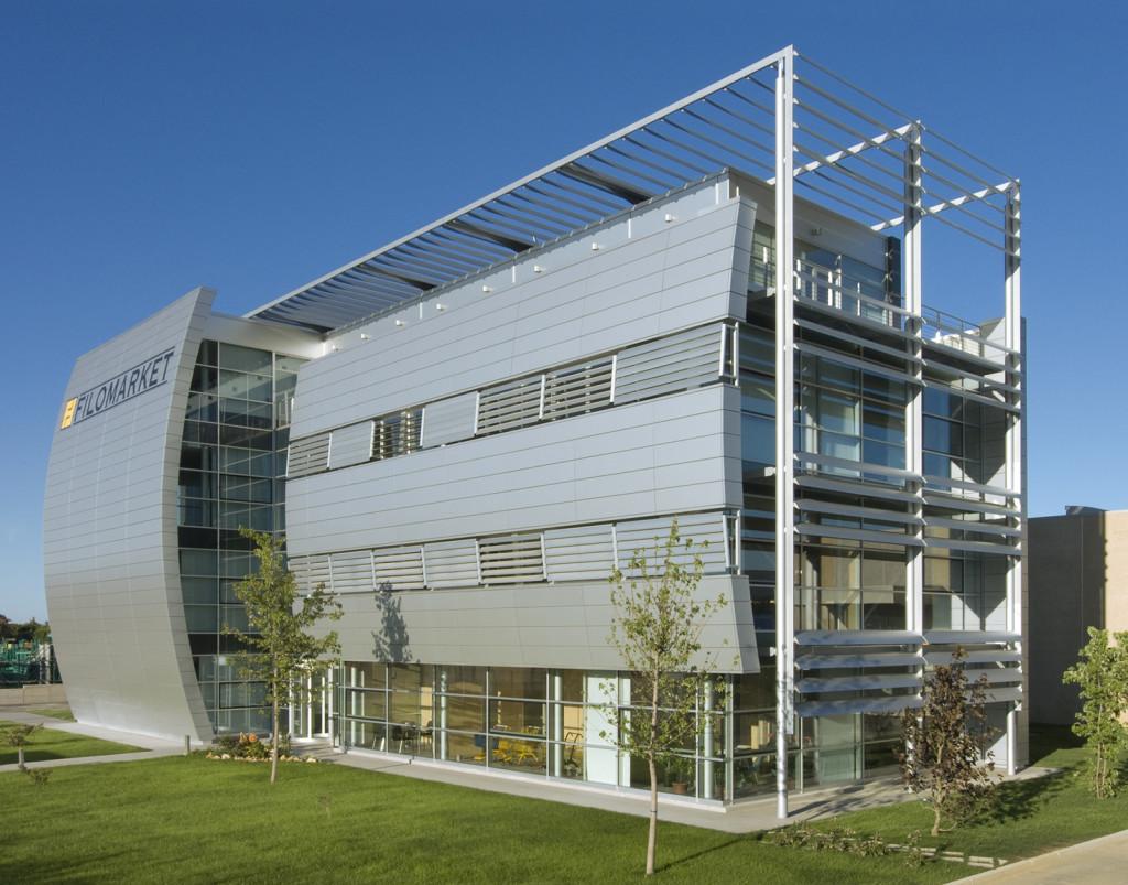 Carpenmetal rivestimento esterno uffici 2