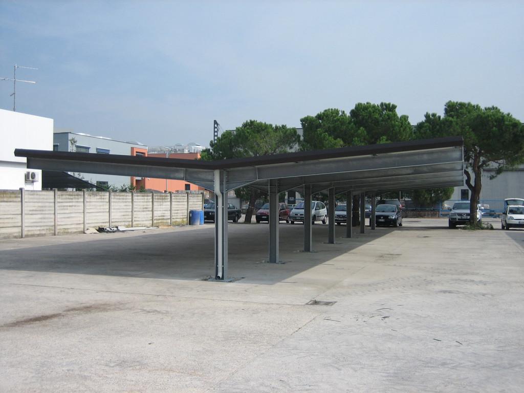 Carpenmetal tettoia parcheggi